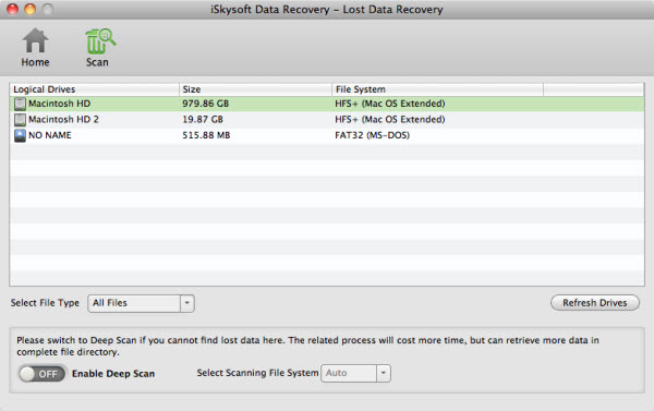 Recover Deleted Videos on Mac