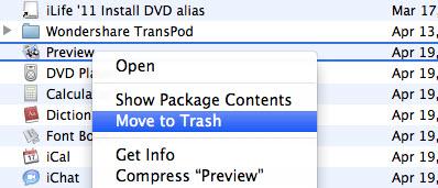how to delete programs on mac