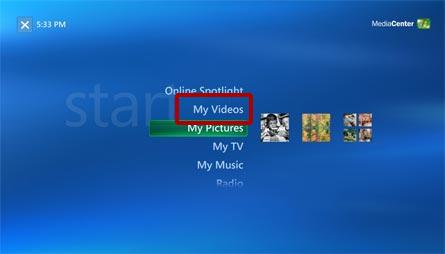play dvd on Xbox 360