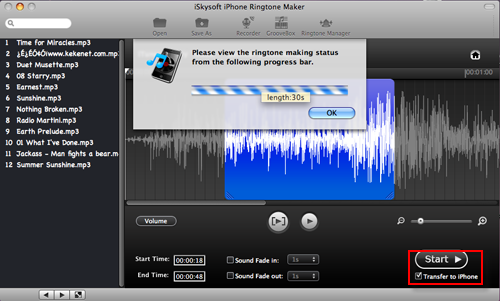 convert aac music to m4r ringtone for mac