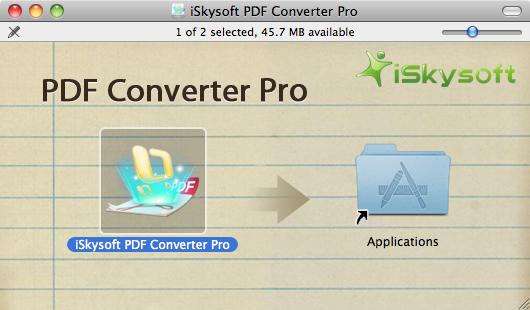 setup of PDF Converter Pro