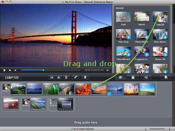 change slideshow theme