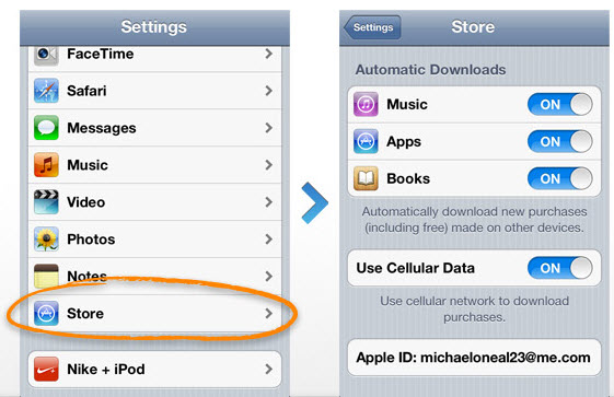 connect iPhone to iPad
