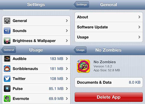 how to delete songs from the icloud on ipod touch