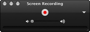 quicktime screen recording audio
