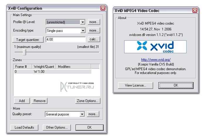 Xvid Codec