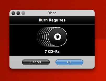 free mac dvd burner disco
