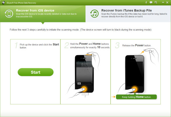 free iphone video recovery software