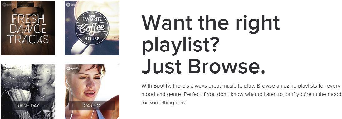 search Spotify playlist