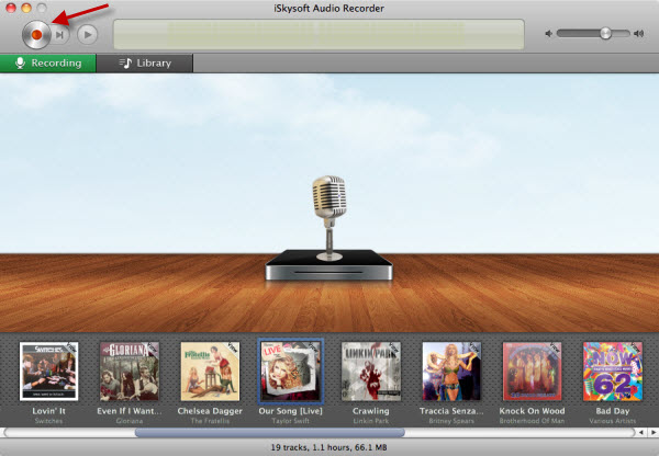 itunes music recorder