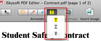 highlight in pdf