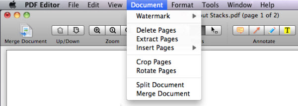add pages to pdf mac