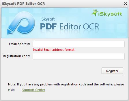 Register OCR Plug-in