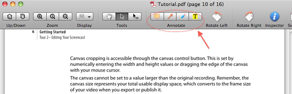add comments to pdf mac