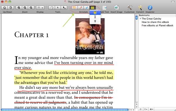 annotate pdf on mac