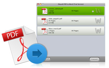 Why Choose iSkysoft PDF to Word for Mac