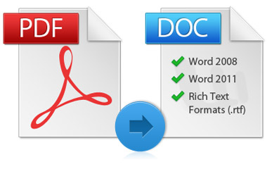 Instantly Convert PDF to Word Documents